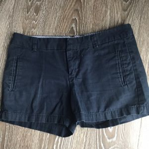 Size 2 jcp navy blue chino shorts
